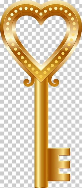 gold keyhole clipart - HD900×1408