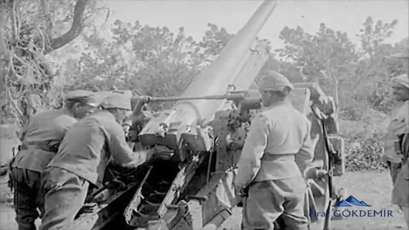 1916 Filistin Cephesi Cemal Paşa Gözcülük yapıyor