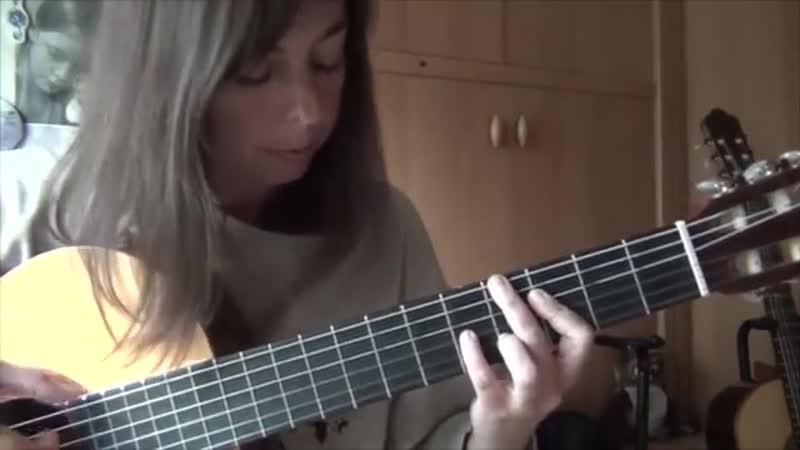 Garota de Ipanema solo classical guitar