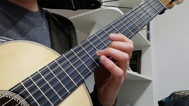 One finger chromatic scale