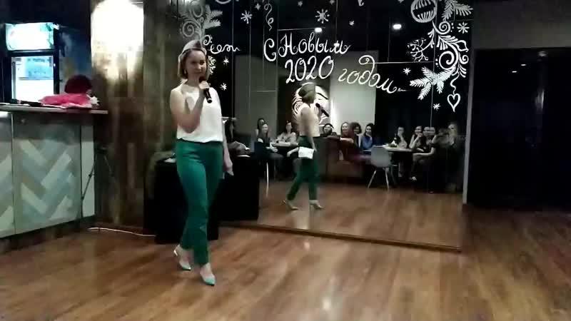 выступление Оли Князевой и Лены Повышевой