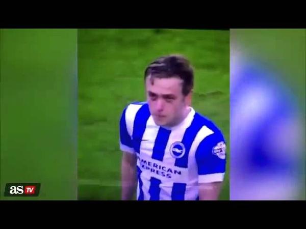 James Wilson vomits during game