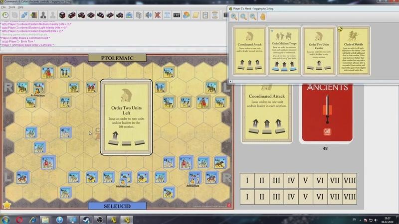 Баттлрепорт\Command Colors\Птолемеи vs Селевкиды через Vassal