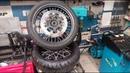 Правка спицованных бескамерных колес KTM