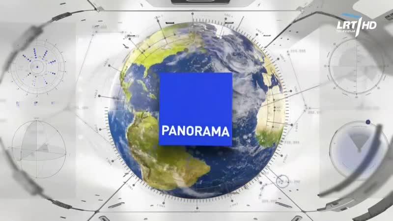 LRT HD - начало Панорамы (12.06.2020)