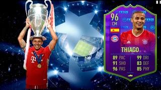 FIFA 20 Thiago Alcantara 96 обзор игрока|Тьяго Алькантара 96 Игрок матча|Разбор стат и нарезка голов