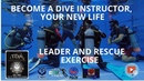 Instructor IDC course Coléra Spain leader and rescue exercise in diving with Thailand Diving Pattaya