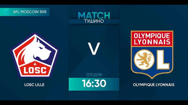 AFL19. France. Ligue 2. Day 20. LOSC Lille - Olympique Lyonnais.