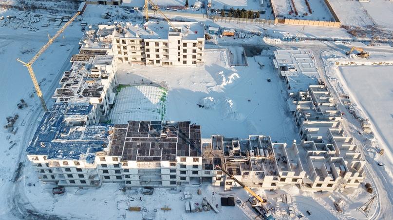 Отчет о ходе строительства, ЖК «Ожогино» январь 2020, изображение №2