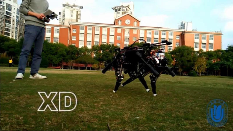 XDog Small and Low cost Four Legged Robot Hello World