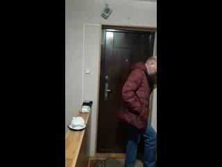 Жена дома на карантине, муж с работы пришел