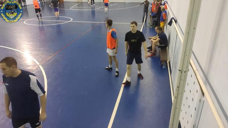VIII кубок Козульского района по мини футболу 2019 2020 Ветераны МФК Дина 1 4 финала
