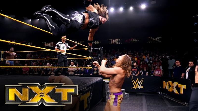 Tommaso Ciampa Keith Lee Matt Riddle vs The O C WWE NXT Nov 6 2019
