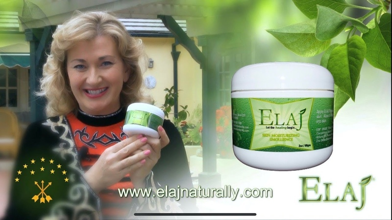 ELAJ Eczema Therapy was created by a Circassian surgeon grandfather of Suhein Beck Founder of ELAJ