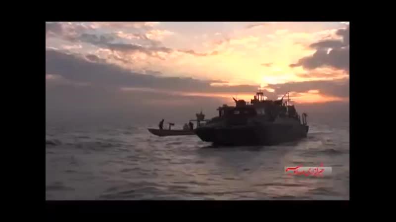 Иранские моряки поставили на колени американских морпехов mp4