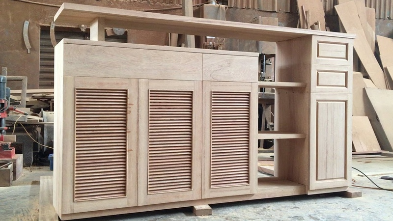 Amazing Skills Woodworking Project How To Build Extremely Large Shoe Cabinet From Hardwood