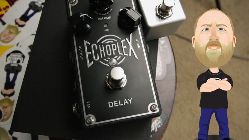 MXR Echoplex Delay - Demo