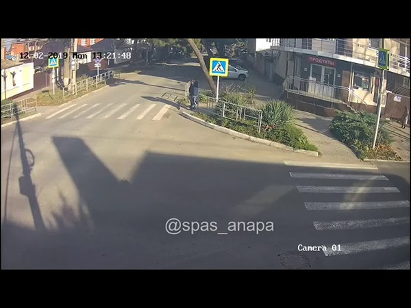 ДТП в Анапе на перекрестке Самбурова - Астраханская