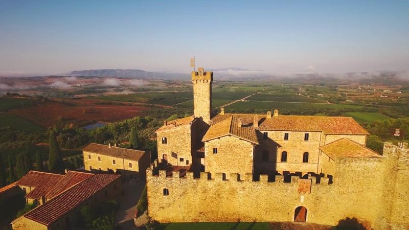 Castello Banfi Winery in Montalcino Tuscany Italy