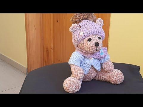 Osito Adolfito Amigurumi Crochet - Patrón Escrito Completo
