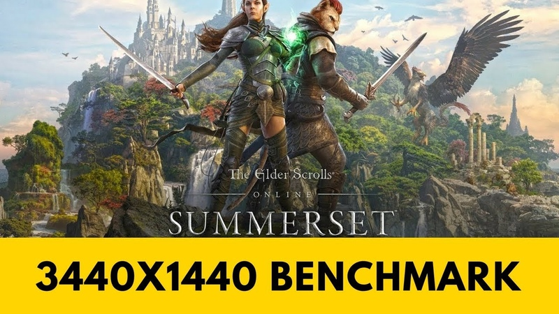 Elder Scrolls Online Summerset - PC Ultra Quality (3440x1440)