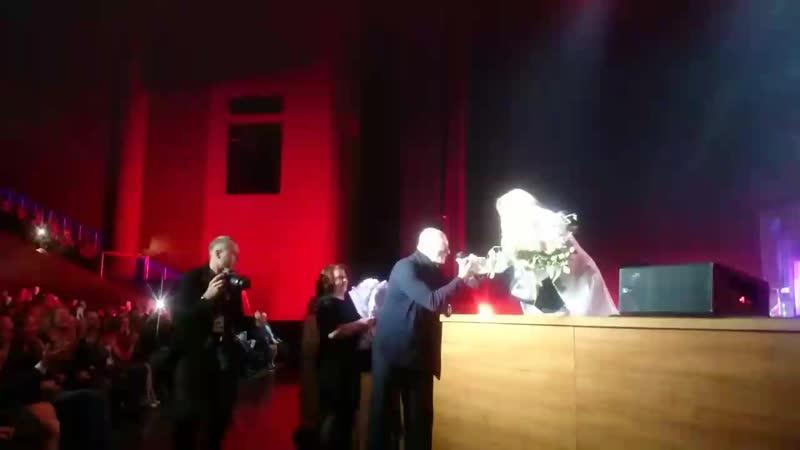 Л. Фабиан и маэстро И. Крутой