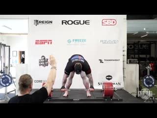Хафтор Бьёрнссон побил мировой рекорд в становой тяге