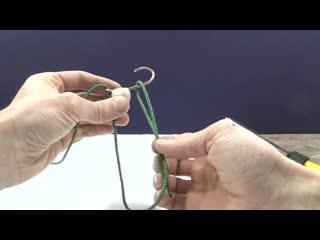 Лучший способ! Как привязать мормышку к леске узлом Гриннер