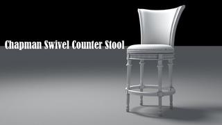 3d modelerChapman Swivel Counter Stool tutorial