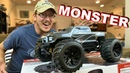 Redcat Racing Dukono Pro 1/10 BRUSHLESS 4WD RC Monster Truck UNBOXING - TheRcSaylors