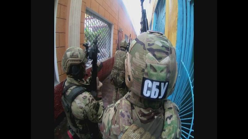 На Одещині відбулися антитерористичні тактико спеціальні навчання