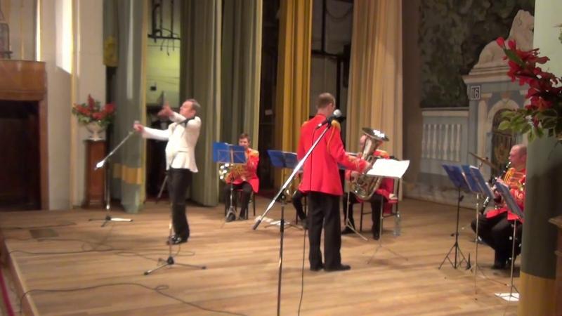 песня Служить России - Гусарский духовой оркестр