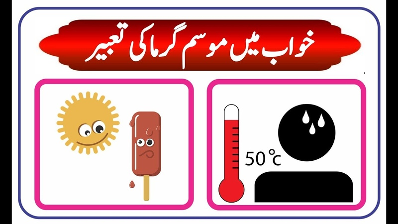 Interpretation of summer in dream || khwab mein Garmi ki tabeer || خواب میں موسم گرما کی تعبیر