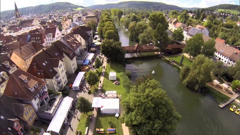 Stadtfest Tuttlingen 2014 von oben