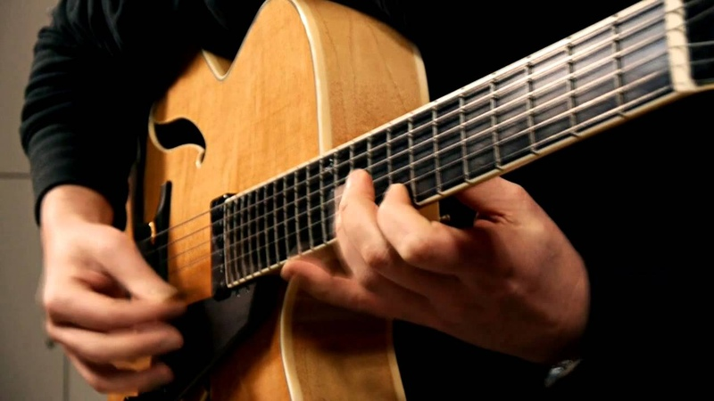 Autumn Leaves Bigband Version Played by Andreas Schulz w Peerless Imperial Archtop