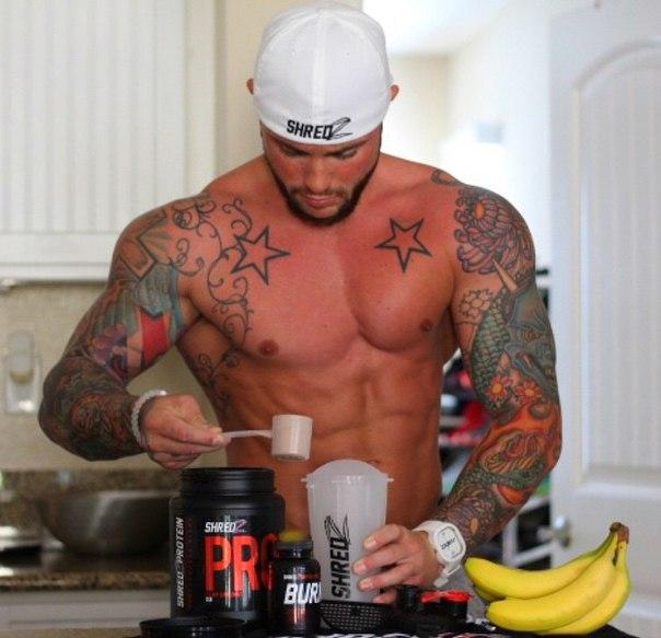Сделай свой Протеиновый коктейль для роста мышц 😃💪🏻💪🏻💪🏻
