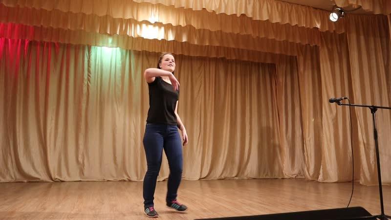 Танец вожатой Юлия 5 6 Отряд