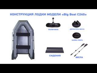 Обзор лодки ПВХ - BigBoat C240