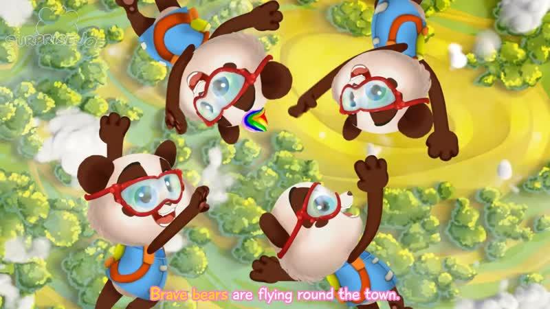 Learn Colors with Baby Foot Painting Panda Bo Nursery Rhymes Kids Songs