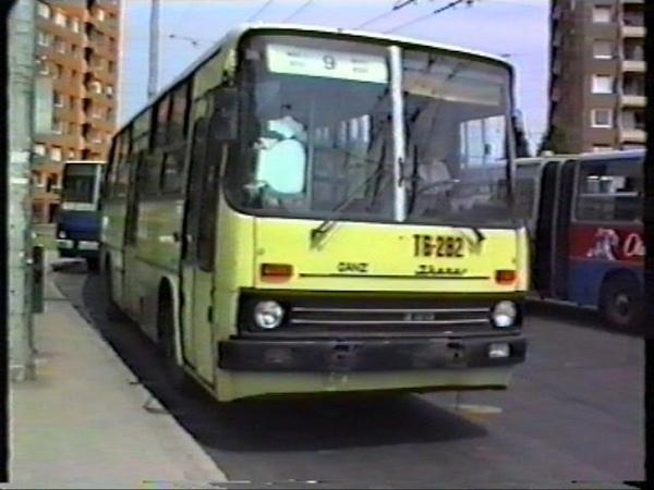 1995.07.13. Szeged trolik Ikarus 280T Ziu 9 GANZ 500 asok T6 282