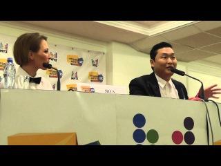 PSY на пресс-конференции Премии МУЗ-ТВ 2013. Перезагрузка