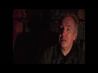 Alan Rickman in Kings Head - famous faces (2006) mp4