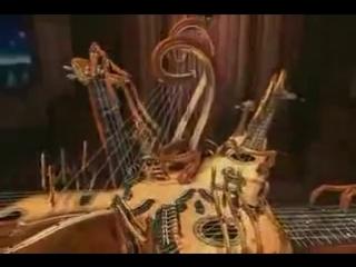 Невероятный механический музыкальный робот