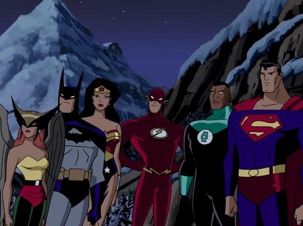 justice league cartoon - HD1120×770