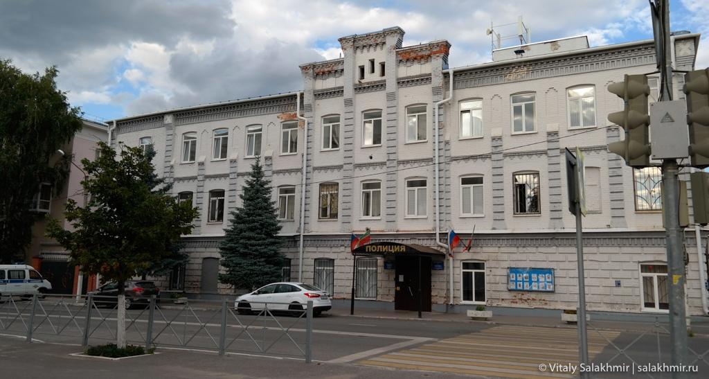 Здание полиции в историческом центре Казани, 2020