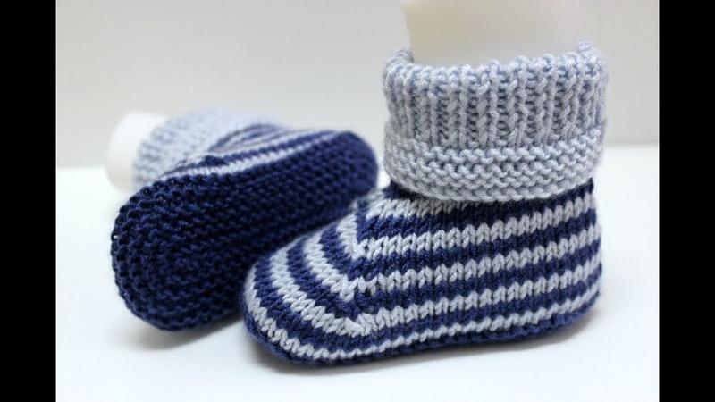 İki şişle iki renkli KIZERKEK bebek botu yapımı kolay bebek patiği modelleri