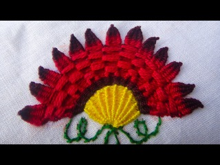 New Hand Embroidery Ideas |  how to stitch flowers with embroidery | Diy Stitching