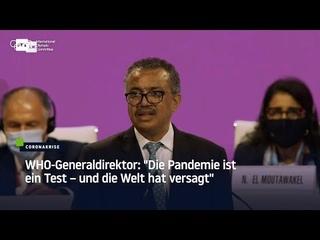 """WHO-Generaldirektor: """"Die Pandemie ist ein Test – und die Welt hat versagt"""""""