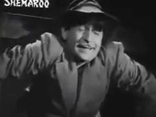 Радж Капур «Бродяга» (1951), Песня из фильма