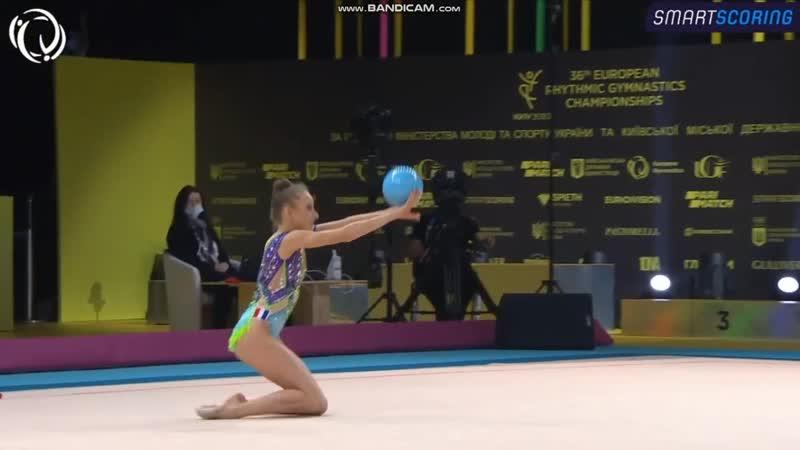 Lili RAMONATXO FRA Ball AA European Championships Kyiv 2020